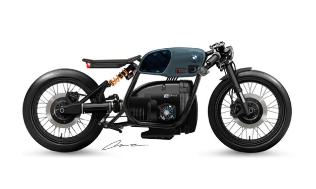 Pasado y presente en una sola moto: BMW eR80
