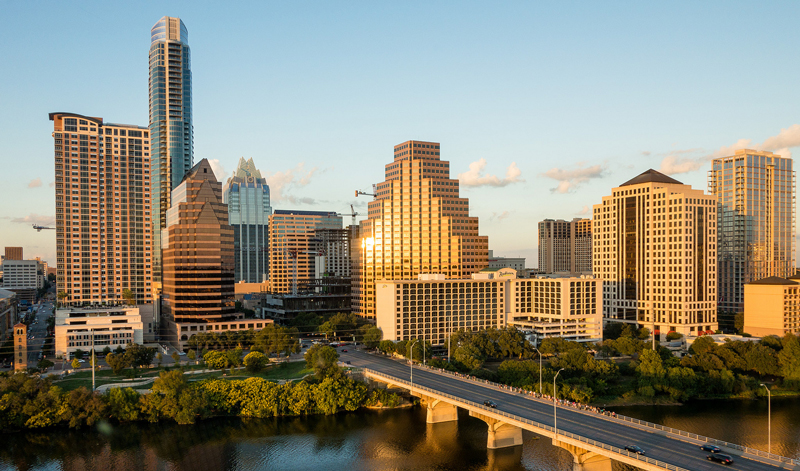 Rodando a Austin
