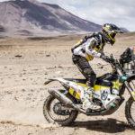 Pablo Quintanilla  se lleva el liderato en el  Dakar 2019