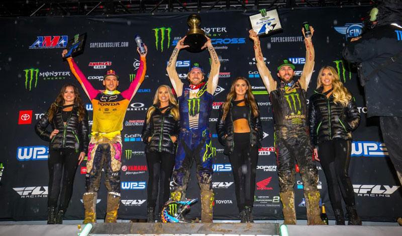 Da inicio el primer capítulo del AMA Supercross 2019; Justin Barcia se adjudica el primer triunfo de la temporada