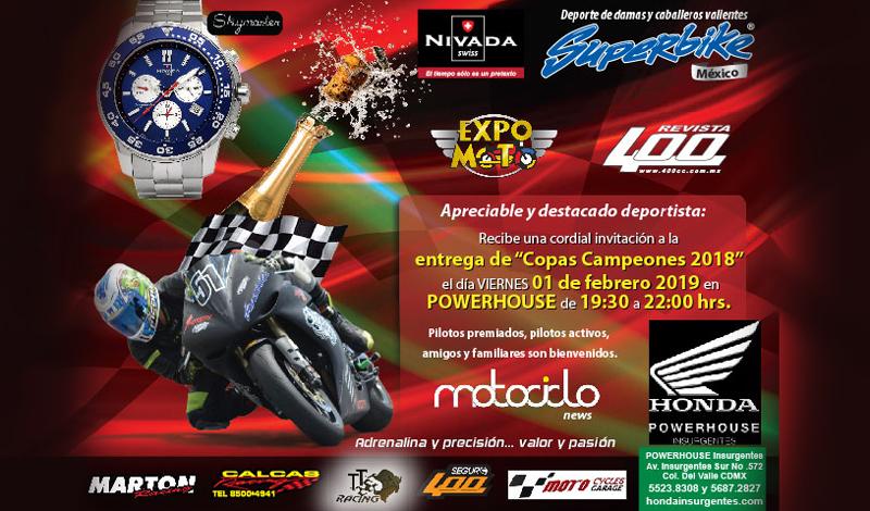 No te pierdas la Fiesta de Campeones SUPERBIKE México.