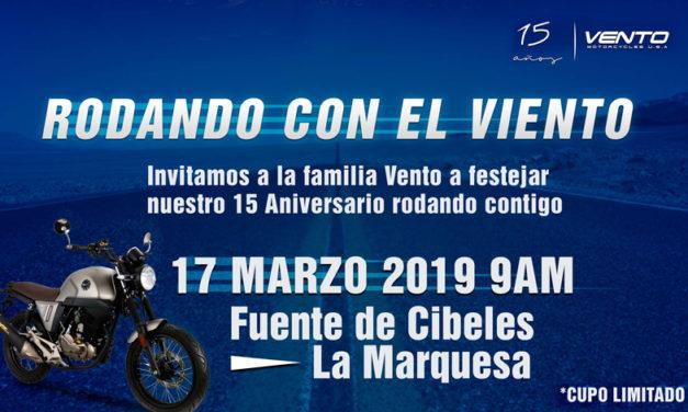 Celebrando con VENTO 15 años en el mercado mexicano