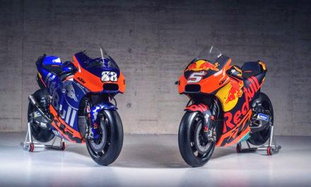 KTM se luce con cuatro espectaculares modelos con los que competirá en MotoGP 2019