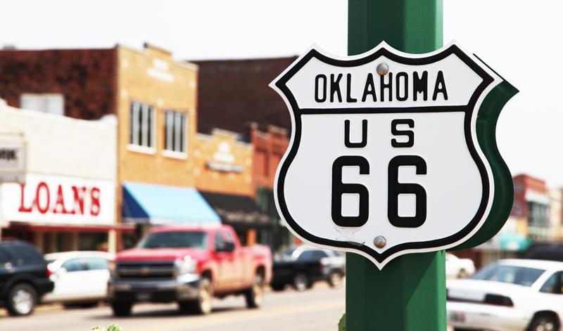 Ruta 66, camino a Oklahoma