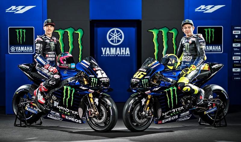 Presentado el equipo Yamaha de MotoGP