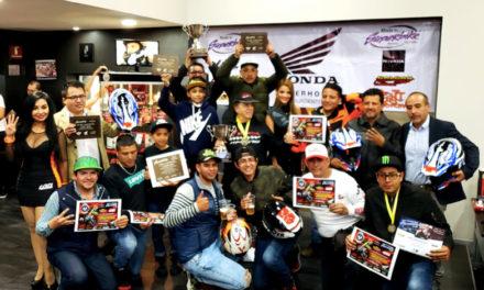 La Fiesta de Campeones reconoció a los mejores pilotos de México