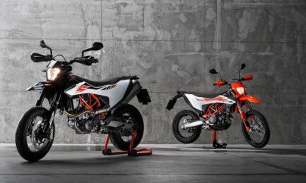 KTM apuesta por sus modelos 690 SMC R y 690 Enduro R
