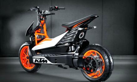 KTM prepara un nuevo scooter eléctrico