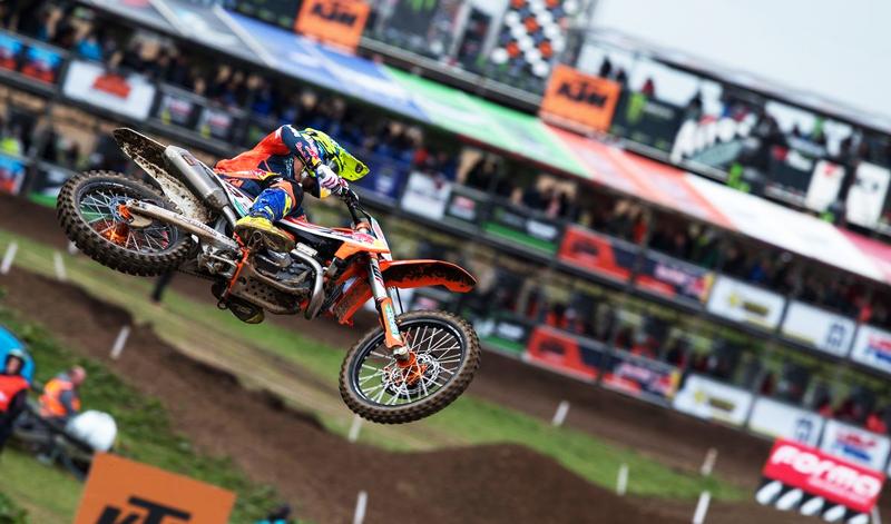 Antonio Cairoli, vencedor del Campeonato Mundial de MXGP