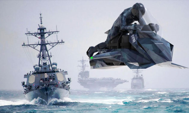 El ejército norteaméricano estrenará moto voladora en 2020