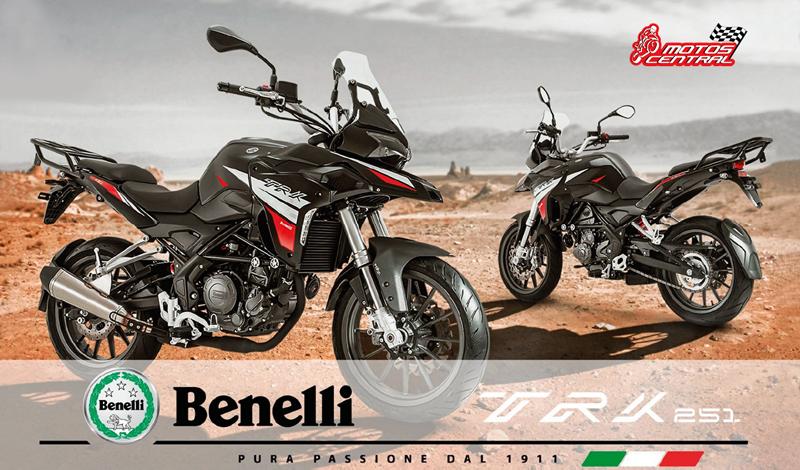 BENELLI TRK 251, la nueva forma de experimentar la aventura