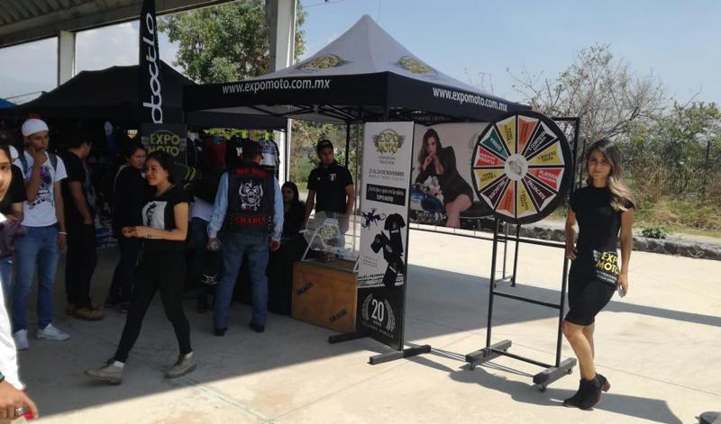 """EXPO MOTO estuvo de fiesta en Cuernavaca en donde rugieron cientos de motores gracias al """"Encuentro Biker Morelos"""""""