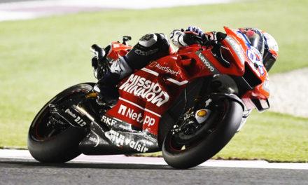 Espléndida victoria de Andrea Dovizioso en Losail en la primera fecha del Campeonato Mundial de MotoGP
