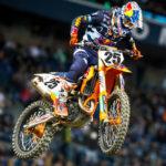 AMA Supercross: Marvin Musquin gana pero no suma en Seattle