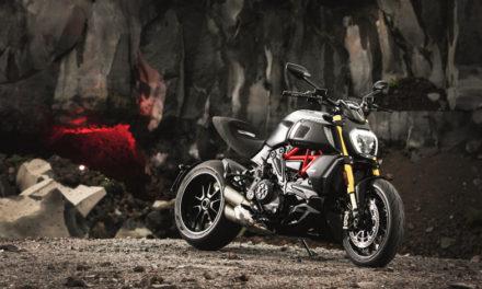 La Ducati Diavel 1260, presente en el Salón Internacional del Automóvil 2019 en Ginebra