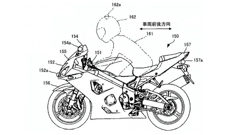 Tu moto más visible con el nuevo sistema patentado por Suzuki