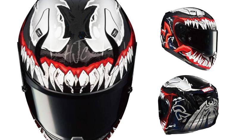 Venom se apodera del nuevo casco de HJC