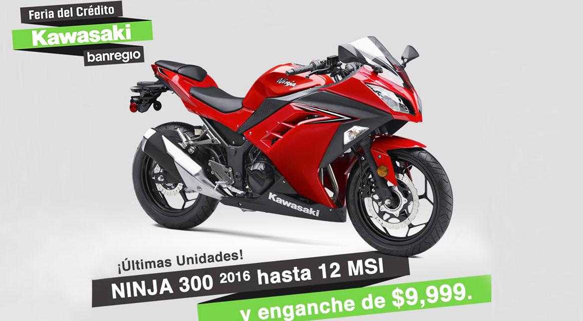 Aprovecha la promoción y hazte de una Kawasaki #NINJA300