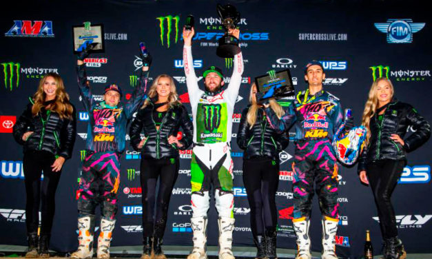 AMA Supercross 2019: Eli Tomac domina la pista en su tierra natal