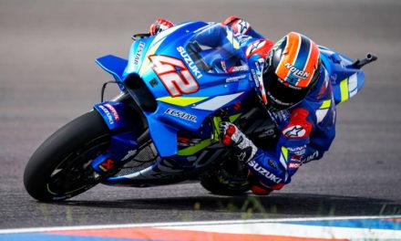 Alex Rins le regala la primera victoria a Suzuki desde el 2016 en el Campeonato Mundial de MotoGP