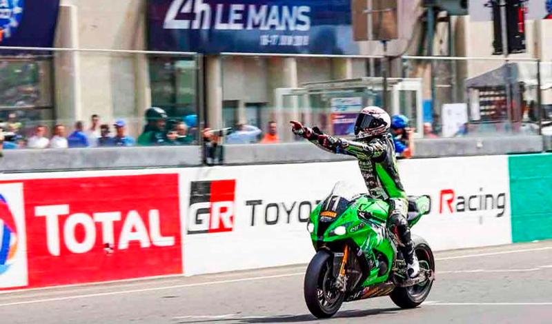 David Checa, el rey de las 24 horas de LeMans, gana por tercera vez consecutiva