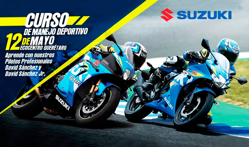 Curso de manejo Suzuki para 150 cc y más