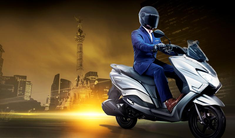 Suzuki está de fiesta con el lanzamiento de la nueva Burgman 125 Street