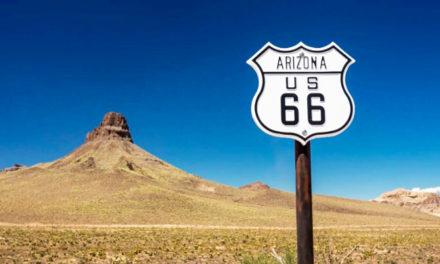 Ruta 66, paso por Arizona