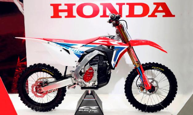 Esta es la nueva motocicleta Off Road de Honda, ¡totalmente eléctrica!