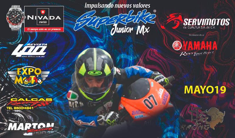 Es momento de los pequeños pilotos en Superbike JR México