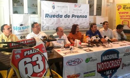El Nacional de Motocross MX llegará a Mazatlán apoyando una noble causa