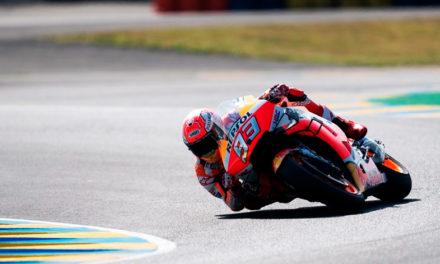 Marc Márquez, le regala la victoria 300 a Honda