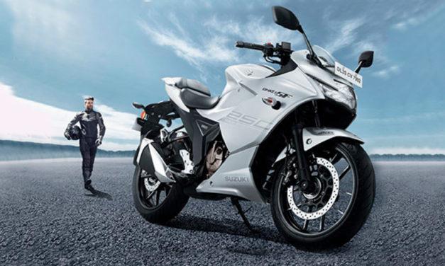 Suzuki hace el lanzamiento oficial de la nueva GSX-S250F