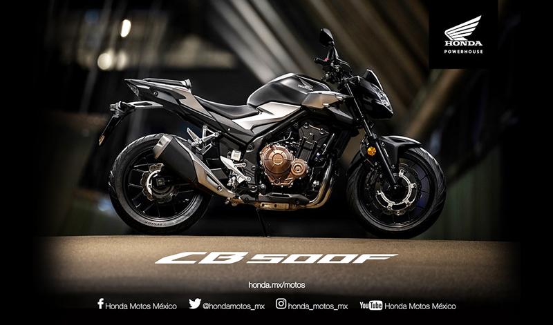 La HONDA #CB500F se ha diseñado especialmente para ti