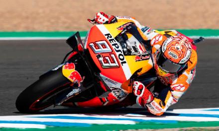 Marc Márquez se apodera por completo del MotoGP de Jerez