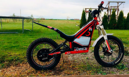¡Para la moto no hay edad! Una eléctrica de Trial especial para niños