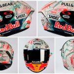 Marc Márquez se vistió de trazos para el GP de Cataluña