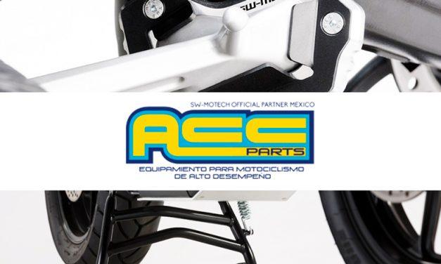 Seguridad en soportes para tu moto con Acc Parts