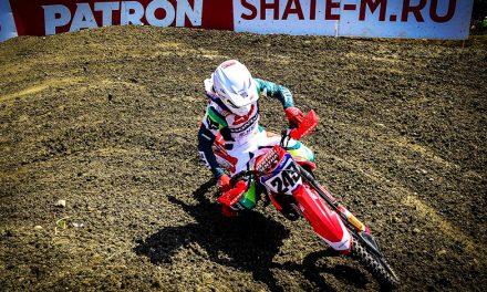 Tim Gajser, ganador del Campeonato Mundial de Motocross en Rusia