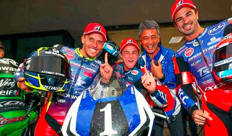 El F.C.C. TSR Honda France el equipo más rápido de las 8 horas de Oschersleben