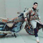 Ropa de diseñador para las motocicletas Yamaha