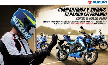 ¡Suzuki comparte y vive tu pasión celebrando contigo el mes del padre!