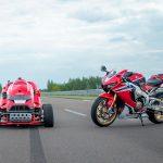 ¡Podadora con alma de motocicleta!