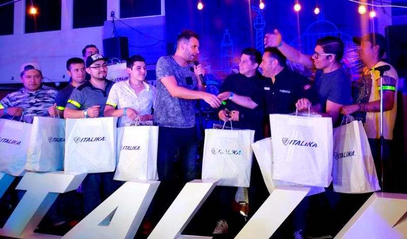 El equipo azul liderado por Expo Moto se lleva la victora del Italika Rally Z