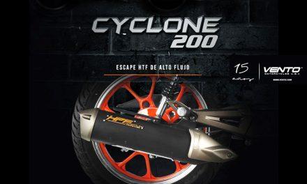 Todo en una sola moto, VENTO CYCLONE 200