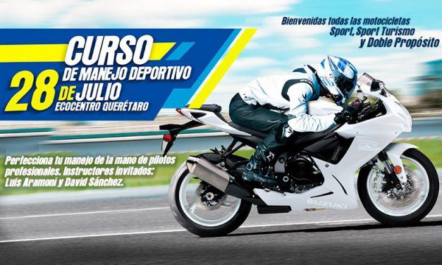 ¡Suzuki Motos te invita a perfeccionar tu manejo!