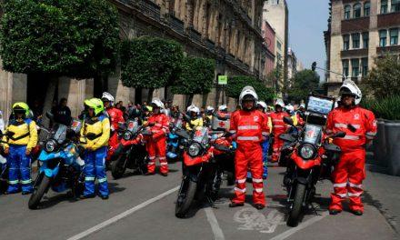 La moto como vehículo imprescindible para un servicio de emergencia