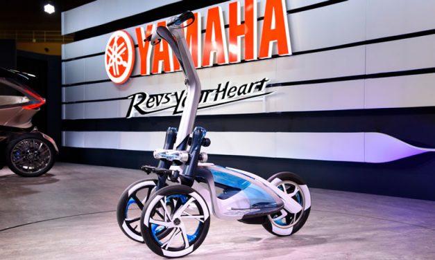 Tecnología Niken para el nuevo triciclo de Yamaha