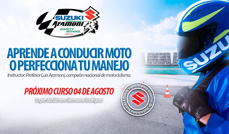 Suzuki Motos te invita a una conducción responsable