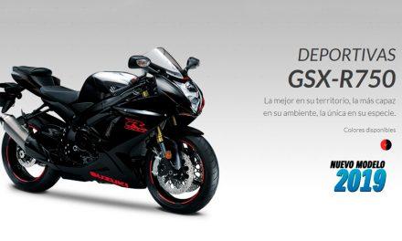 Suzuki te invita a conocer la GSX- R750, la deportiva más imponente de su segmento